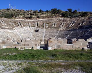 Antiek Theater Bodrum « Bezienswaardigheden Bodrum « Royal Bodrum